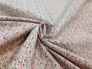 Tessuto cotone fantasia fiorellini