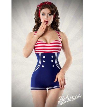 Belldandy.fr: Belsira, maillot de bain rétro, bikini pin-up, bikini rockabilly