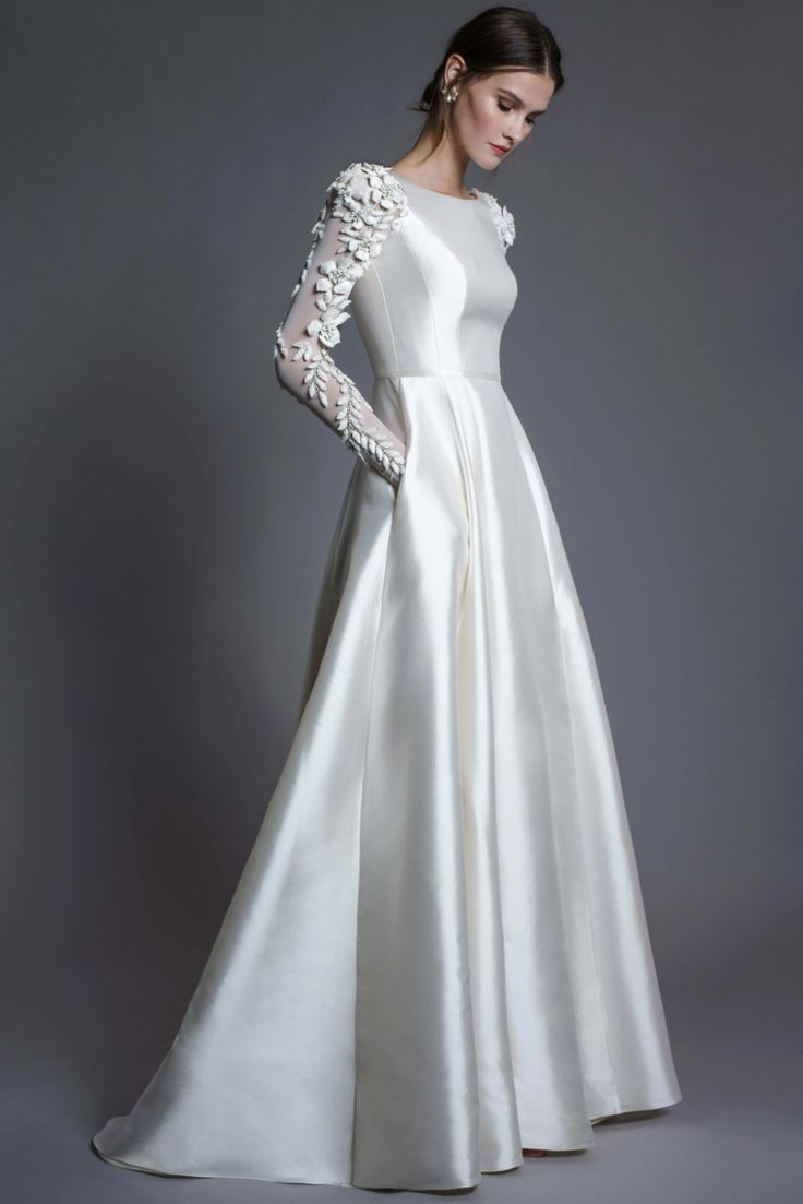 Directional Yet Demure Clothing For The Cool Modern Woman: 59+ Elegant & Unique Modern Wedding Dresses