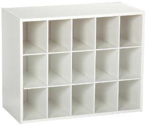 cube laminate furniture shoe rack item storage new