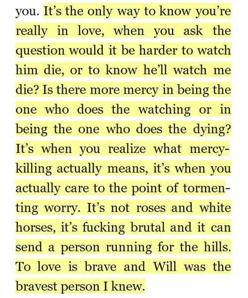 Oh my God this quote...oh my God this book! Sweet Thing - Renee Carlino