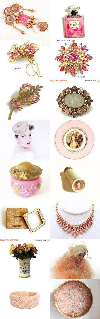 Pretty Pinks by Pat on Etsy--Pinned+with+TreasuryPin.com