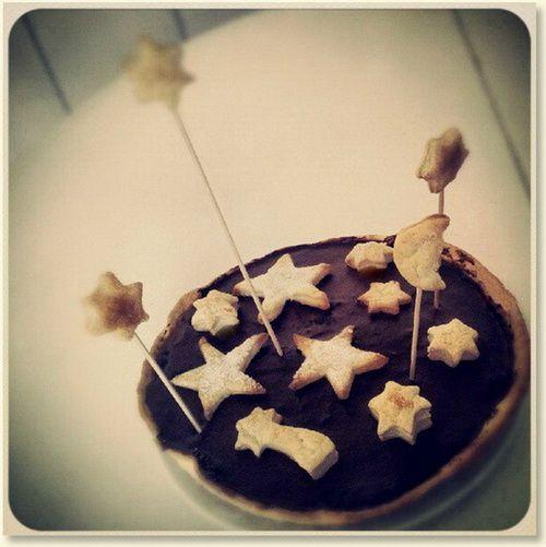 Starcake, for sun / moon / stars birthday theme