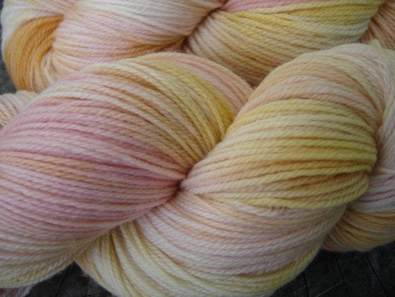 Hand Dyed Sock Yarn  Superwash Merino Wool  by fuzzandsunshine, $22.00Superwash Merino, Merino Wool, Socks Yarns, Hands Dyed, Dyed Socks, Yarns Superwash