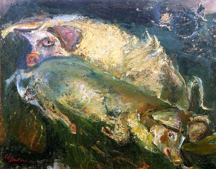 Pigs Chaim Soutine - circa 1940