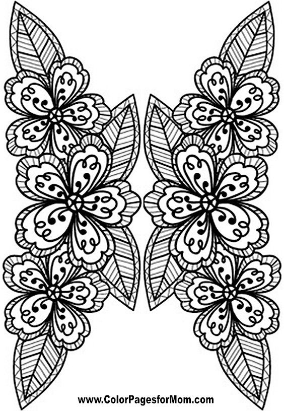 512 best Coloring Pages images on Pinterest | Flower coloring ...