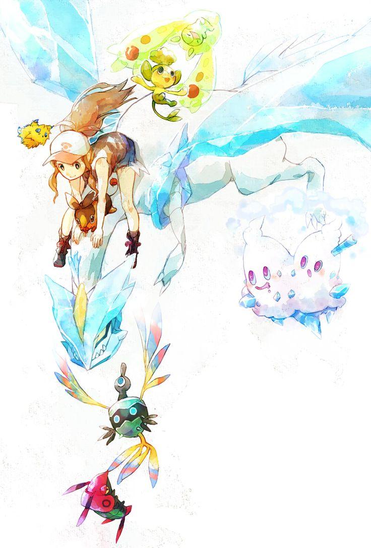 N and touko wedding - Hilda White Touko And Her Lovely Pokemon
