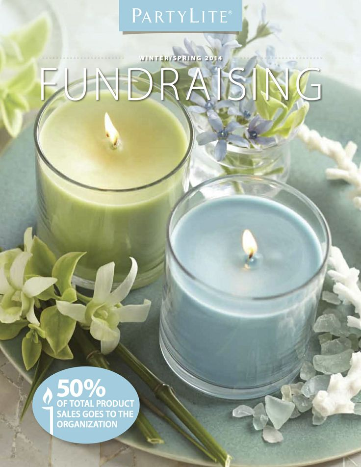 PartyLite Winter/Spring Fundraising - New Fragrances and Forms! Contact me for all of your fundraising needs!  www.partylite.biz/shelliepatterson