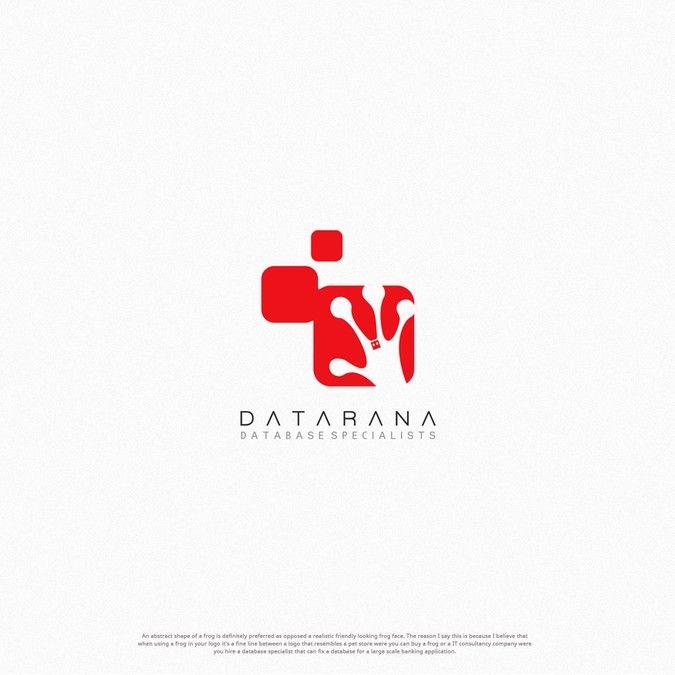 Create killer frog logo for Datarana by dipomaster™