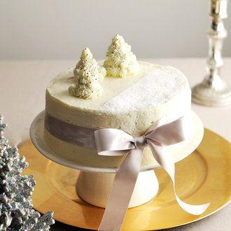 雪降る聖夜のホワイト・クリスマスケーキ レシピ