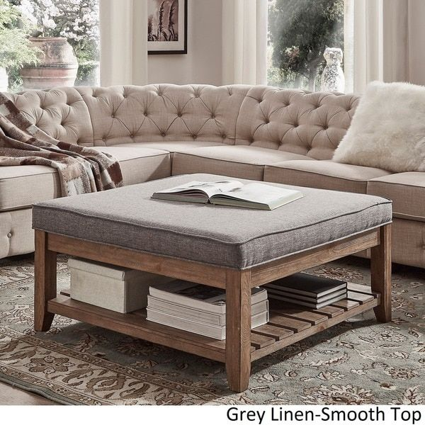 Lennon Pine Planked Storage Ottoman Coffee Table by TRIBECCA HOME - 25+ Best Ideas About Storage Ottoman Coffee Table On Pinterest