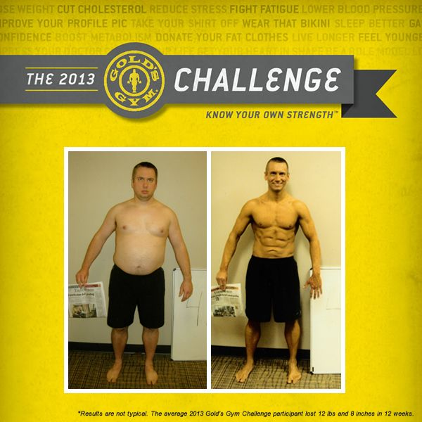 10 best The 2013 Gold's Gym Challenge images on Pinterest ...