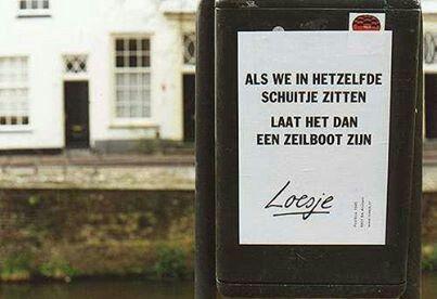 #zeilboot #zeilen #loesje