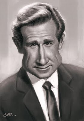 Some recent caricatures of the late actor Lloyd Bridges and his two actor sons, Beau and Jeff.