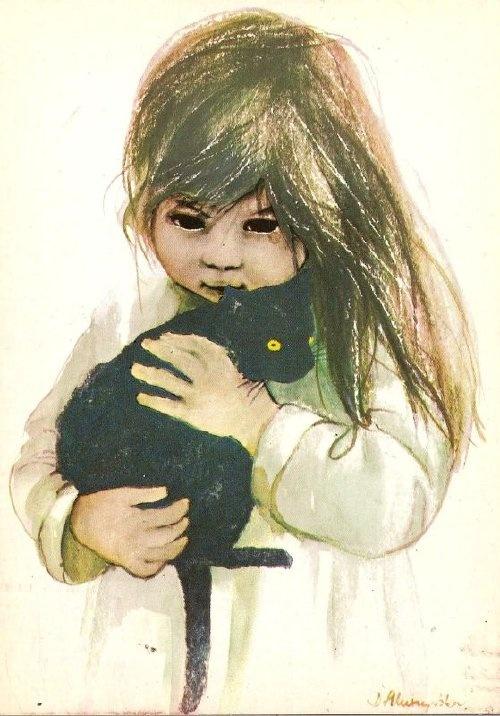 Danuta Muszyńska-Zamorska.  Kartki mojego dzieciństwa...tę dostałam od Mamy.