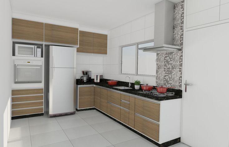 cozinhas planejadas pequenas com pastilhas - Pesquisa Google