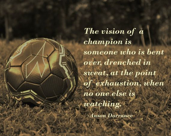 71 Best Images About Soccer Inspirational Quotes On