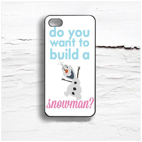 olaf frozen quote Design Cases iPhone, iPod, Samsung Galaxy