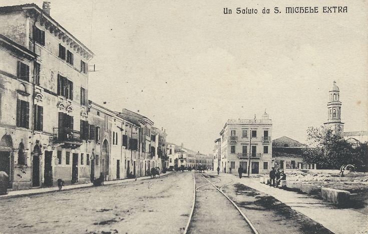 Verona - San Michele Extra - via XX Settembre - 24-10-1913