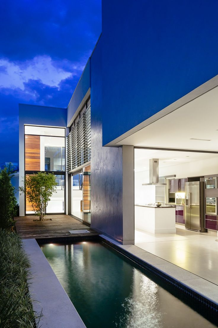 Modern minimalist house in brazil adorable home - Project Modern Residence Brasil 9 Sustainable Four Level Home In Brazil Exhibiting A Bold Modern Architecture