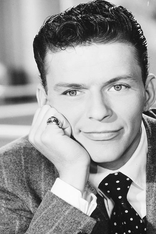 "Frank Sinatra in ""Step Lively"", 1944."