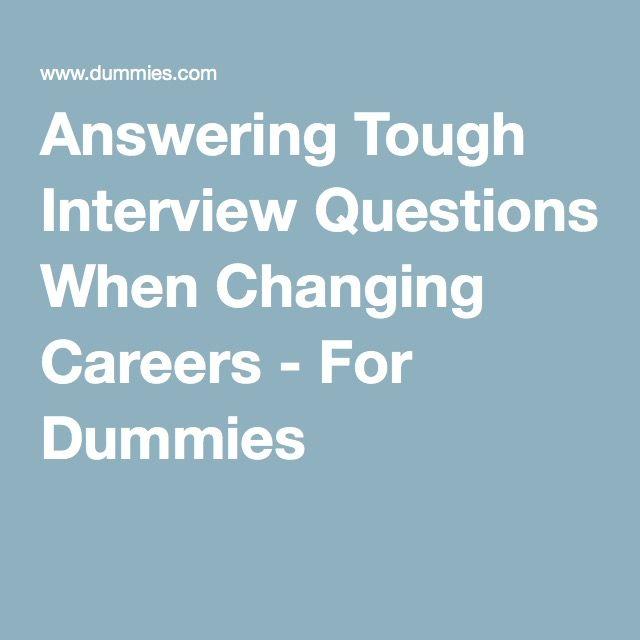 25+ unique Tough interview questions ideas on Pinterest Answers - restaurant interview questions