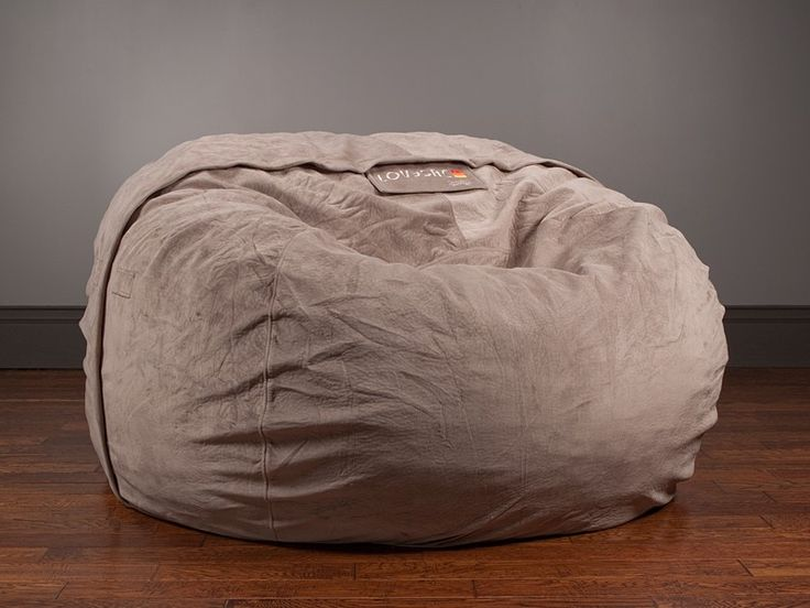 Love Sac in Taupe. Fits 2 adults comfortably:)