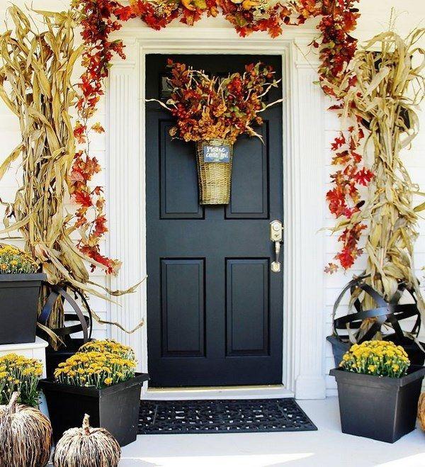Las 25 mejores ideas sobre porches de oto o en pinterest for Decoracion puerta otono