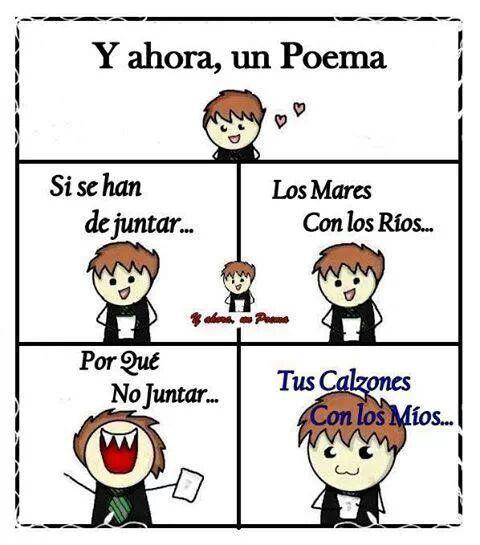 Y ahora un poema!
