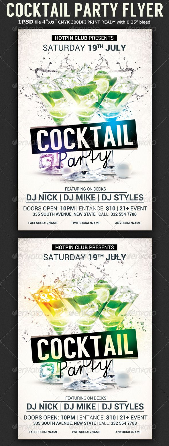83 best DJ Flyer images on Pinterest | Party flyer, Flyers and ...