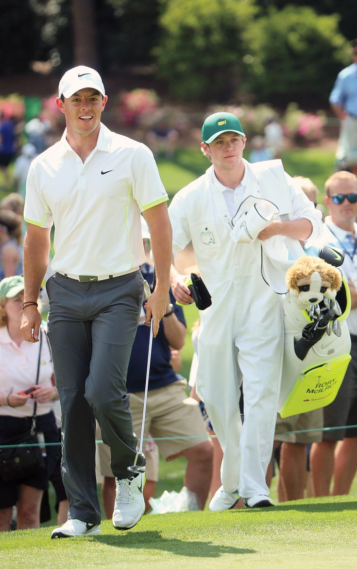 Horan caddied for McIlroy at the 2015 Masters Tournament.