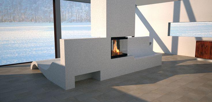 Fireplace, Krbová vložka BeF Twin 7 CP-CP