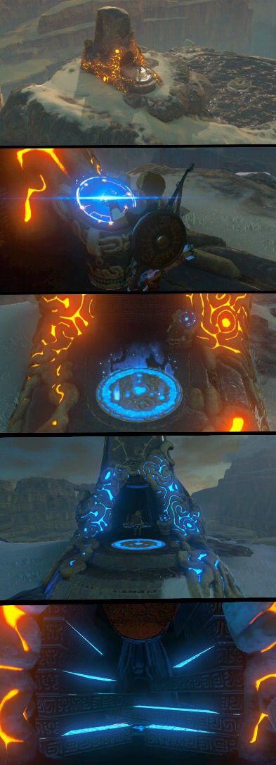 Strange new temple in The Legend of Zelda: Breath of the Wild