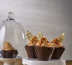 Piped Cupcake Topper #Dessert #Recipe #SouthAfrica