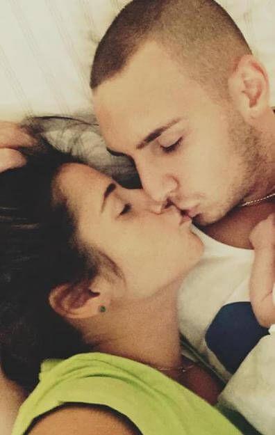 Halten zusammen: Sarah und Pietro Lombardi mit ihrem Söhnchen Alessio