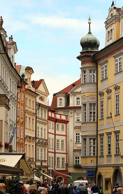 | ♕ |  Stare Mesto - Prague Old Town streets  | by © Pierre Richer. Man do I miss these streets