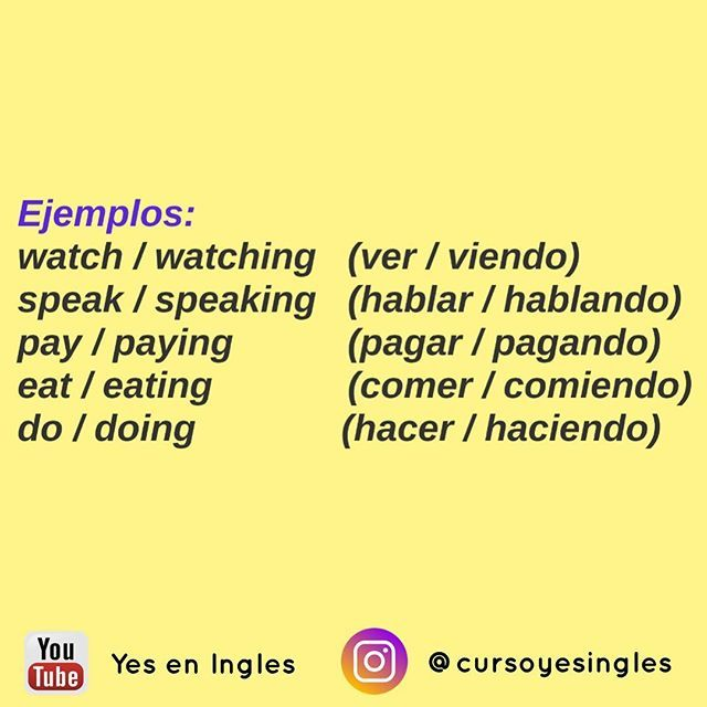 Pin On Yes En Inglés Instagram