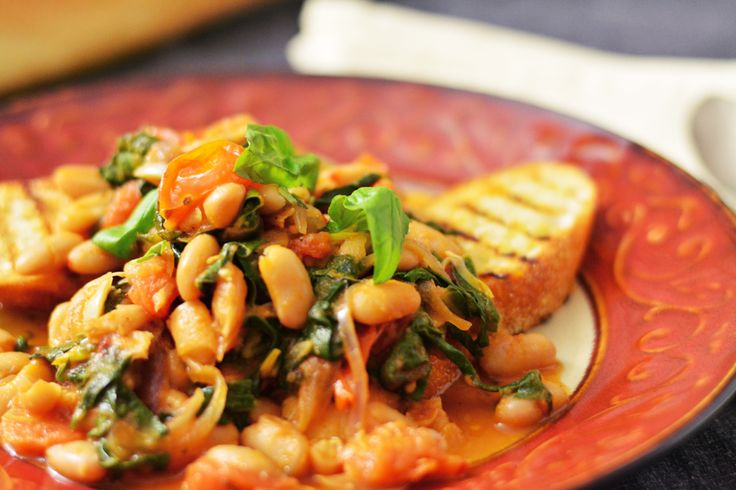 White Bean and Swiss Chard Ragout | Recipe | White Beans, Italian Food ...