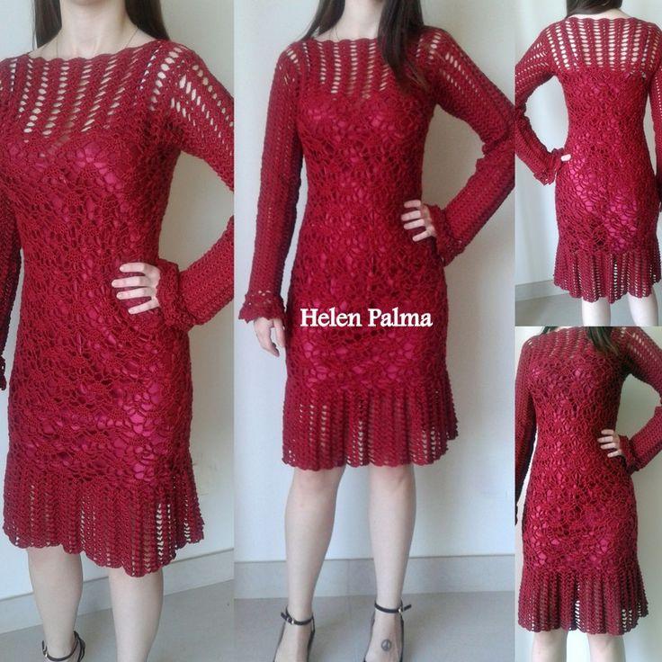 Vestido crochet encomendas hcpalma@gmail.com