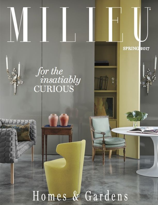 17 best MILIEU Covers images on Pinterest Magazine covers
