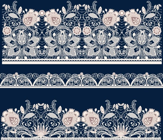 Flowers Creative Wedding Lace Pink Background Lace Shading Hollow Pattern Border Pattern Decorative Material Wallpapers Vintage Pink Background Cards Handmade