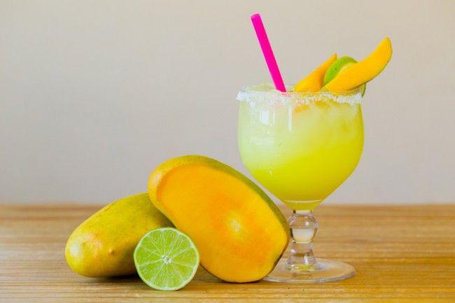 Non-Alcoholic Mango Lime Margarita