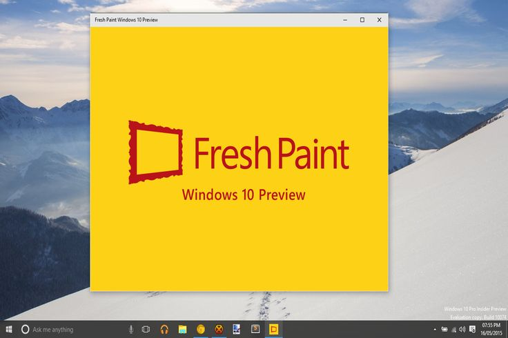 Microsoft's updated Paint application for Windows 10 looks wonderful