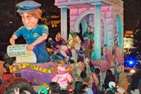 Mardi Gras 2017 Parade Schedule 👀 Carnival season officially begins January 6 every year and continues through Fat Tuesday, which falls on the day before Ash Wednesday. This year's parades will take place between January 6th and February 28th, 2017.