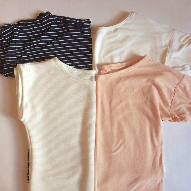 Basics sewing and flutter sleeve tees – jess sews clothes