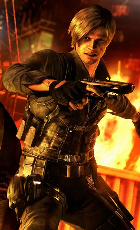 "Leon in ""Resident Evil 6."""