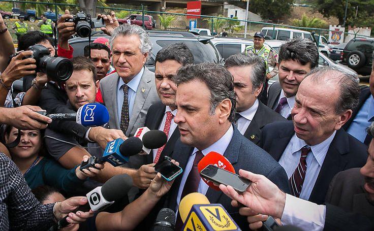 Folha de S.Paulo - Internacional - Es - Mundo - Un bloqueo frustra el encuentro entre senadores brasileños y opositores venezolanos - 19/06/2015