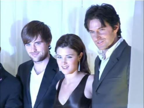 Jonas Armstrong, Lucy Griffiths and Richard Armitage - Robin Hood