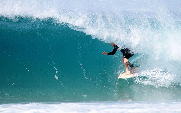 Surfing on Fuerteventura