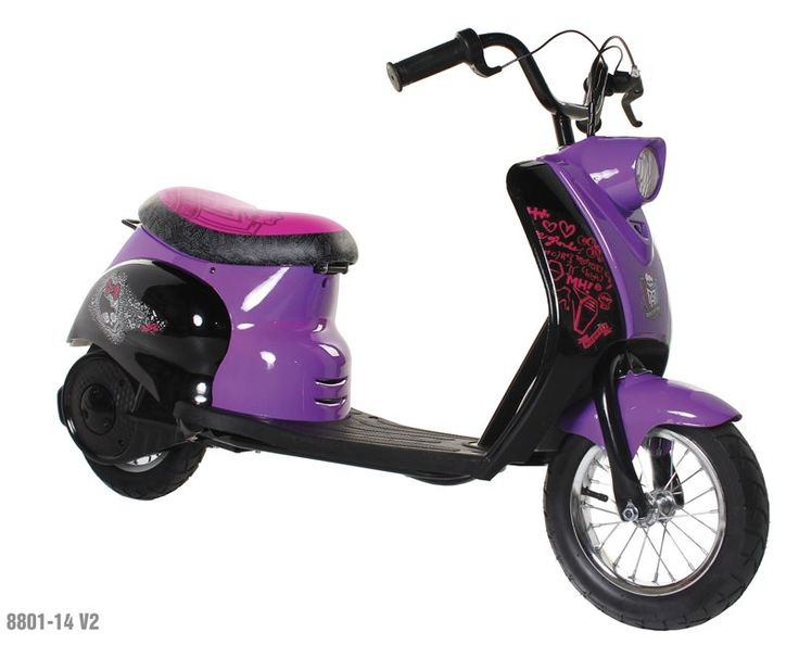 Recall: Dynacraft Recalls Monster High City Motor Scooters Due to Fall Hazard; Sold Exclusively at Walmart